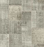 Esta Home Marrakech patchwork kelim taupe 148331