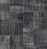 Esta Home Marrakech patchwork kelim zwart 148334