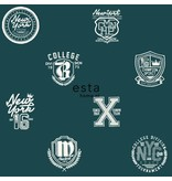 Esta for Kids College School emblemen donker groen 138825