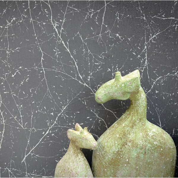 Elegance 3 Twiggy twijgentakjes grijs metallic 305072