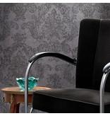 A.S. Creation Elegance 3 Amelie bloemen grijs/zwart 305182