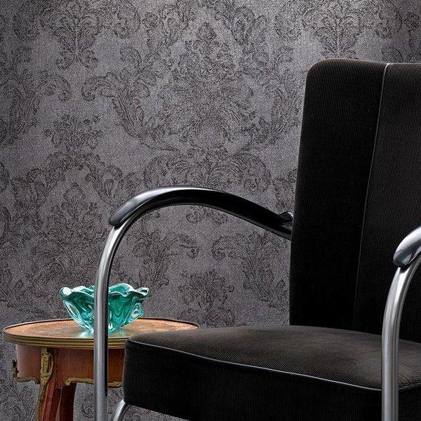 Elegance 3 Amelie bloemen grijs/zwart 305182