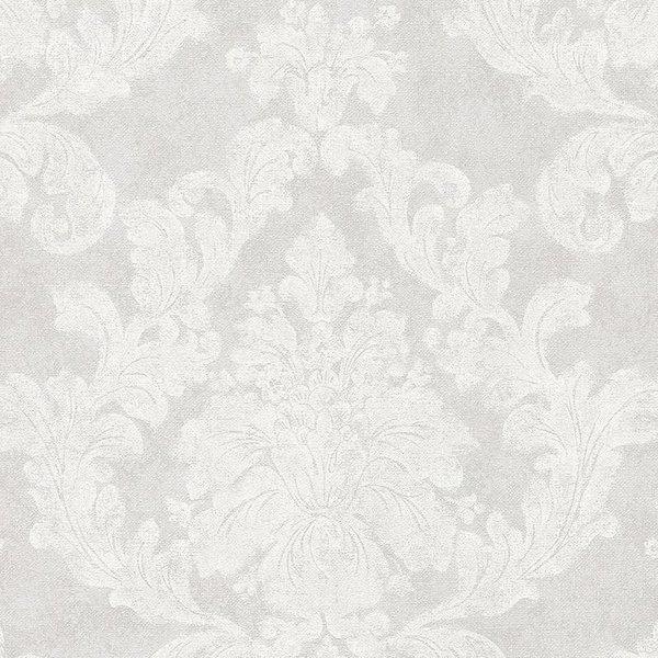 Elegance 3 Amelie bloemen licht grijs 305183