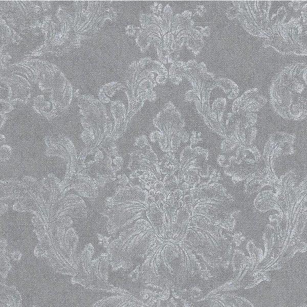 Elegance 3 Amelie bloemen grijs/wit 305184