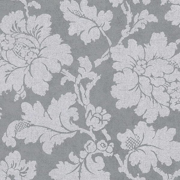 A.S. Creation Elegance 3 Penny bloemen grijs/roze 305195
