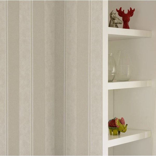A.S. Creation Elegance 3 Strepen beige 305202