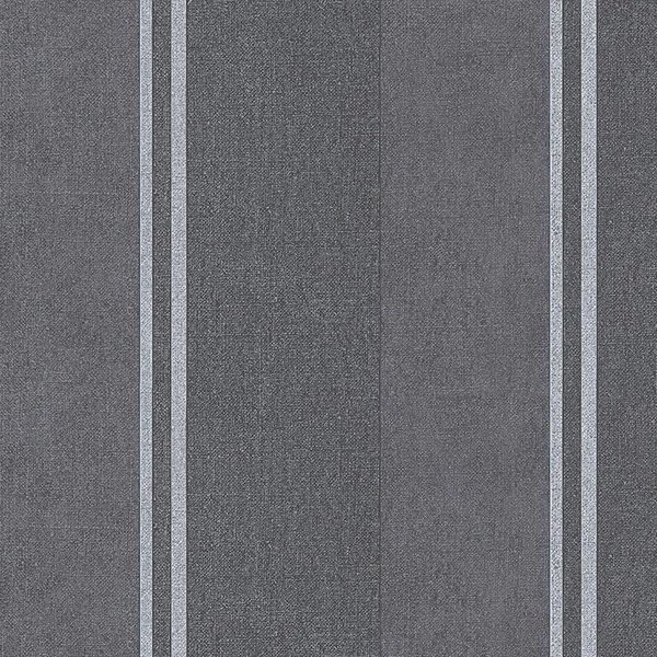 A.S. Creation Elegance 3 Strepen grijs/bruin 305205