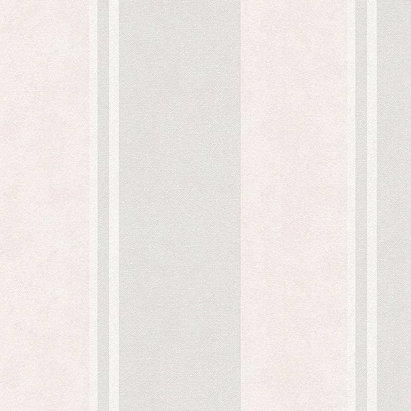 A.S. Creation Elegance 3 Strepen licht grijs/beige 305206