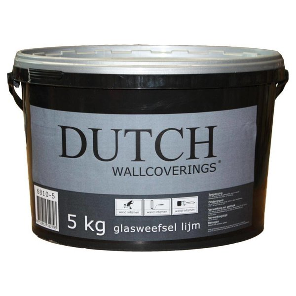 Dutch Wallcoverings Glasweefsellijm 5 kg - 25m2