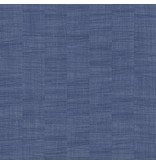 Dutch Wallcoverings Bontanical uni blauw BA1006