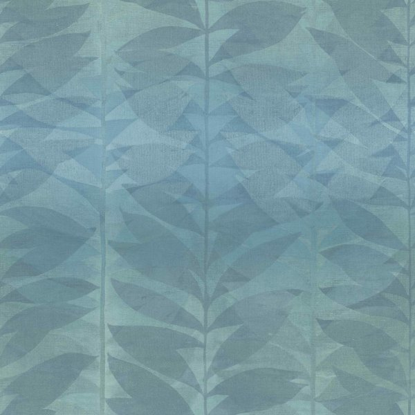 Dutch Wallcoverings Botanical Blad petrol