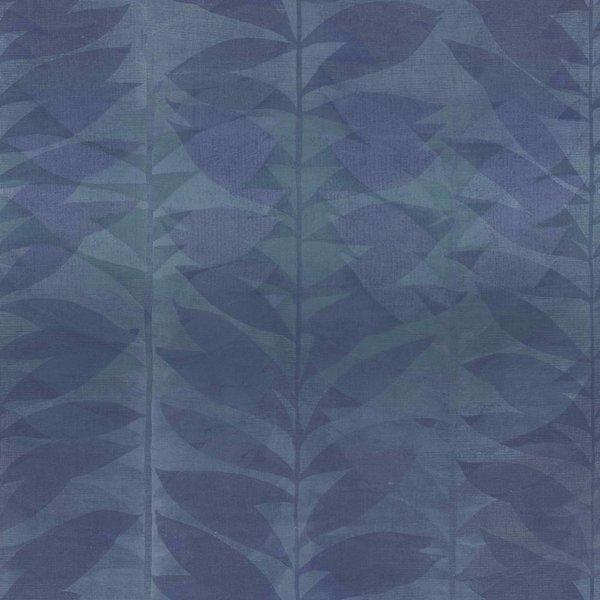 Dutch Wallcoverings Botanical Blad blauw