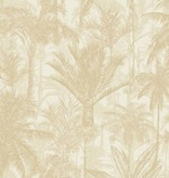 Dutch Wallcoverings Bontanical Palmbomen beige BA2304
