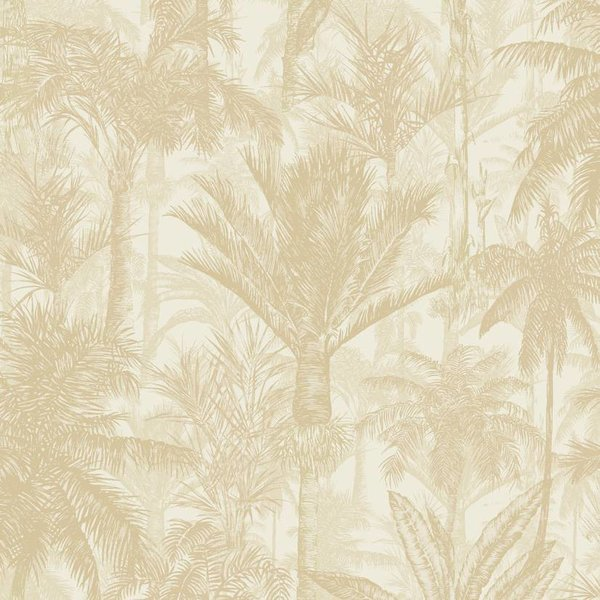 Dutch Wallcoverings Botanical Palmbomen beige