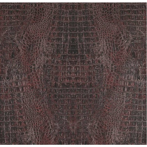 Voca Curious Croco bordeaux rood metallic 17953