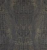 Voca Curious Croco blauw/goud metallic 17956