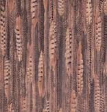 Voca Curious Veren bruin, zwart, oranjerood & blauw 17963