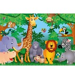 Dutch Wallcoverings Wizard & Genius fotobehang In the Jungle 00122