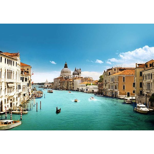 Dutch Wallcoverings Wizard & Genius fotobehang Venice canal grande 00146