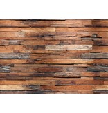 Dutch Wallcoverings Wizard & Genius fotobehang Wooden Wall 00150