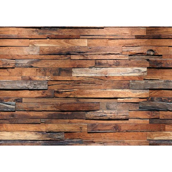 Dutch Wallcoverings Wizard & Genius fotobehang Wooden Wall