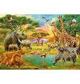 Dutch Wallcoverings Wizard & Genius fotobehang African Animals 00154