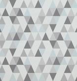 Voca Hej driehoekjes blauw/grijs 218182