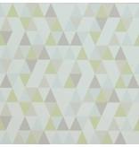 Voca Hej driehoekjes lime/blauw/grijs 218184