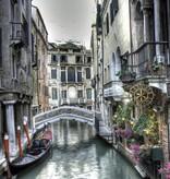 Dutch Wallcoverings Fotobehang grachten van Venetië