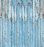 Dutch Wallcoverings Fotobehang Sloophout blauw