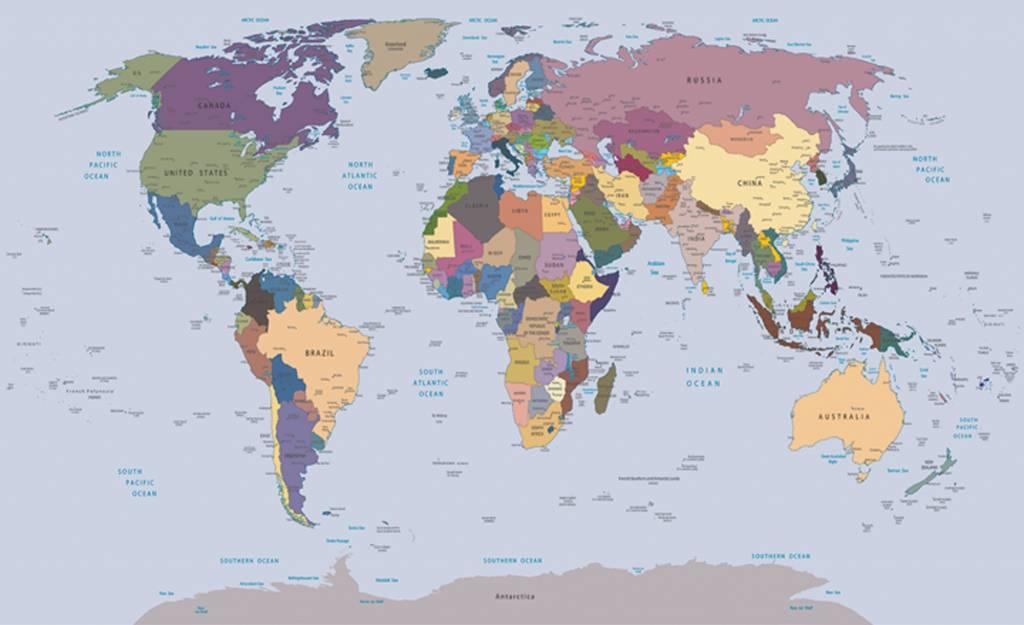 Fotobehang wereldkaart de behangwinkelier dutch wallcoverings fotobehang wereldkaart thecheapjerseys Images
