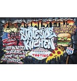 Dutch Wallcoverings Fotobehang Graffiti stateside kitchen