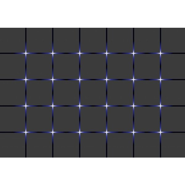 Dutch Wallcoverings Fotobehang Blokken zwart/blauw