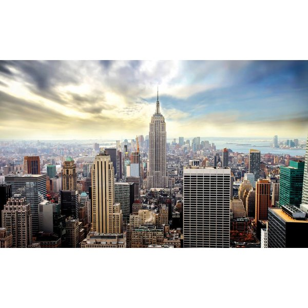 Dutch Wallcoverings Fotobehang New York van boven