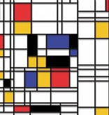 Dutch Wallcoverings Fotobehang Mondriaan