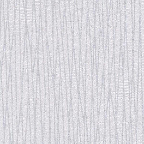 A.S. Creation Around the World Stripes wit/grijs 30652-2