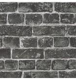 A.S. Creation Around the World Stenen muur grijs 30682-2