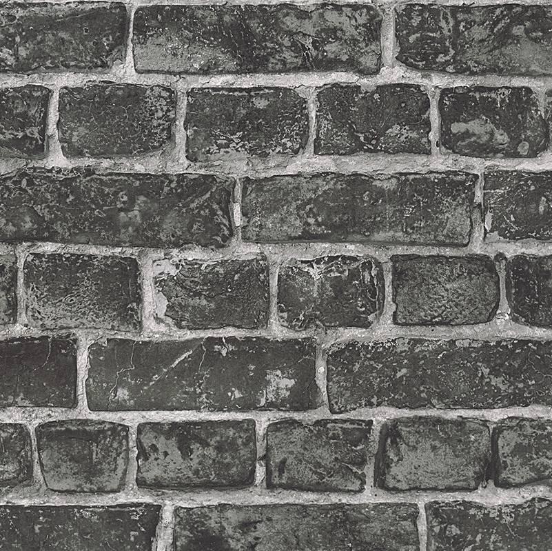 Uitzonderlijk Around the World Stenen muur grijs 30682-2 - De Behangwinkelier #EB03