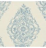 A.S. Creation Around the World Ornamenten wit/blauw 30695-1