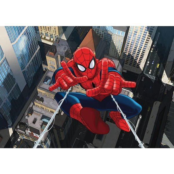 Dutch Wallcoverings Fotobehang Spiderman van boven