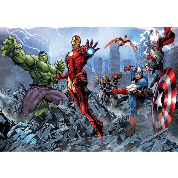 Dutch Wallcoverings Fotobehang Avengers