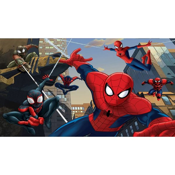 Dutch Wallcoverings Fotobehang Spiderman fight