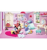 Dutch Wallcoverings Fotobehang Minnie Mouse house