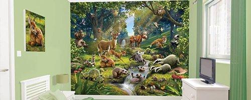 Fotobehang dieren