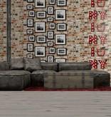 Dutch Wallcoverings Freestyle Baksteen lijstjes NY 102536