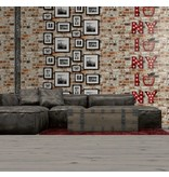 Dutch Wallcoverings Freestyle Baksteen rood 102538