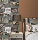 Dutch Wallcoverings Freestyle Fotomuur New York A043-09