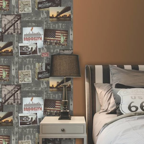Dutch Wallcoverings Freestyle Fotomuur New York