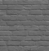 Dutch Wallcoverings Freestyle Baksteen - Zwart/zilver L226-29