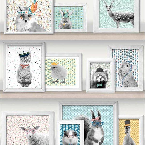 Dutch Wallcoverings Freestyle Fotolijstjes dieren L325-01